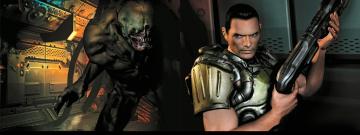 Картинка doom видео игры игра