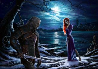 Картинка видео+игры the+witcher+3 +wild+hunt арт ролевая ведьмак дикая охота action wild hunt the witcher 3