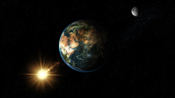 Картинка космос земля earth planet