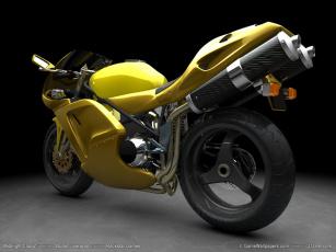 обоя мотоциклы, 3d