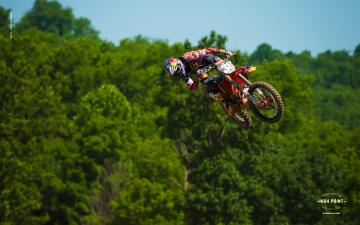 Картинка спорт мотокросс гонки трасса