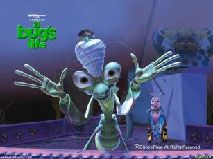 Картинка мультфильмы bugs life