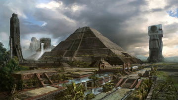 Картинка фэнтези иные миры времена mayan civilization