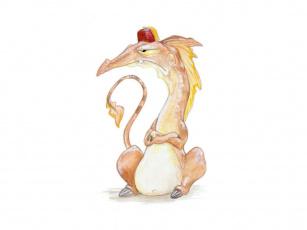 Картинка рисованные животные сказочные мифические
