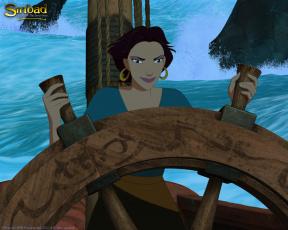 Картинка мультфильмы sinbad legend of the seven seas