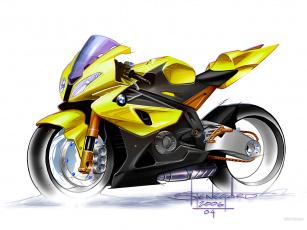 Картинка мотоциклы рисованные