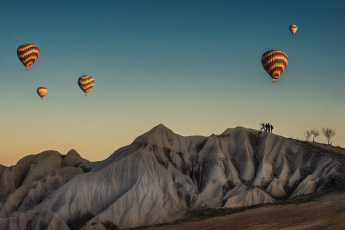 обоя авиация, воздушные шары, шар, фон, горы