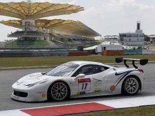 Картинка спорт автоспорт ferrari 458 challenge evoluzione 2014 трасса гонка
