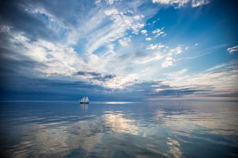 Картинка корабли парусники пейзаж корабль море