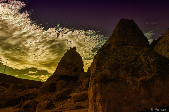 Картинка природа горы вечер облака