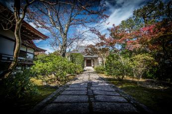 Картинка kyoto города киото+ Япония храм парк