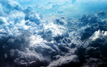 Картинка природа облака кучевые тучи небо