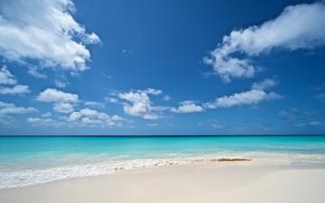 обоя природа, побережье, море, берег, небо, облака