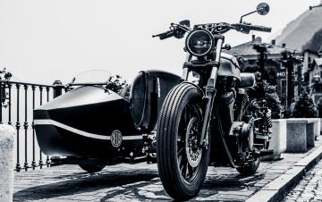 обоя мотоциклы, мотоциклы с коляской, deus