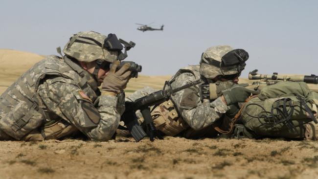 обои для рабочего стола военные солдаты № 808062  скачать