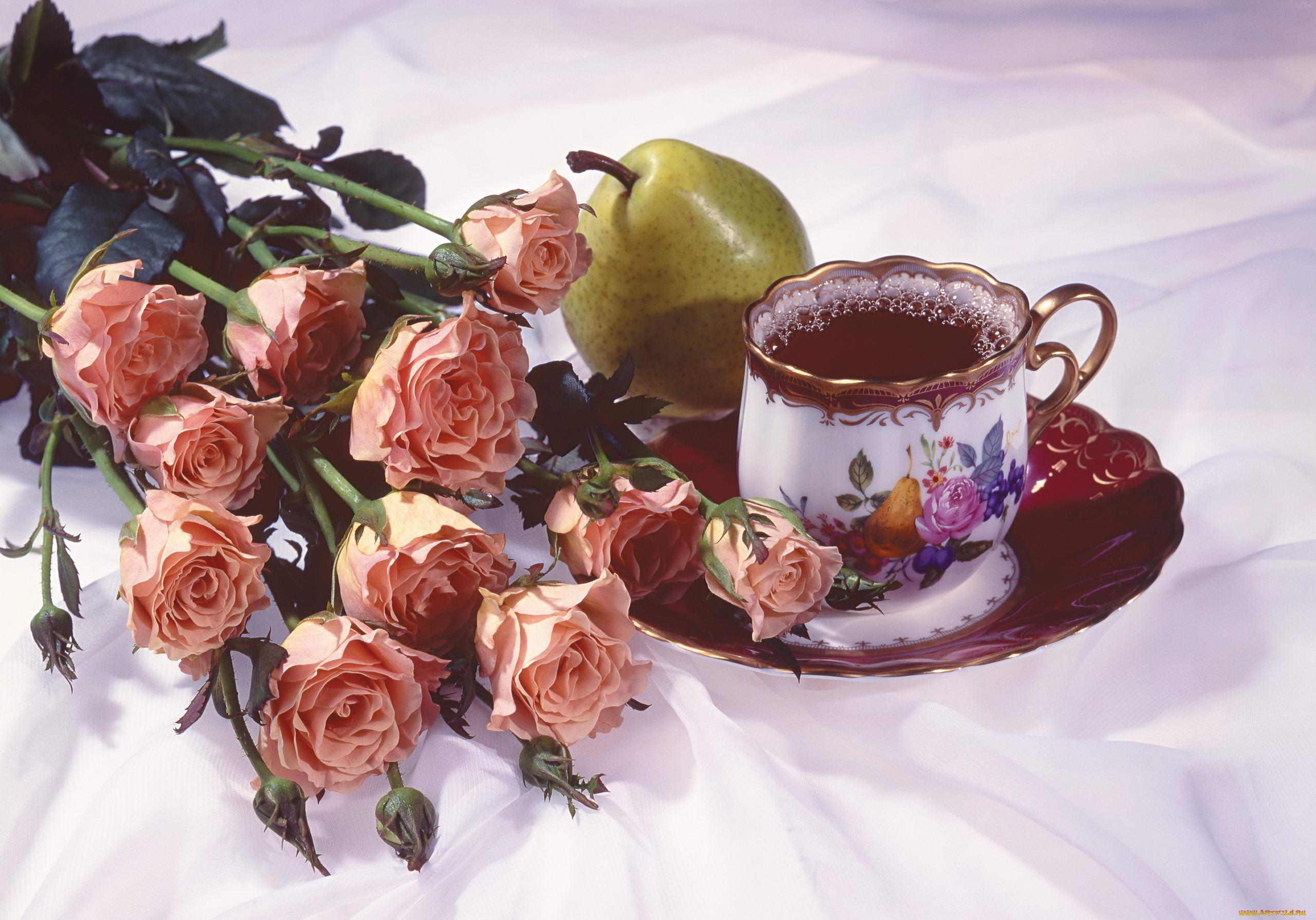 Поздравлениями первым, открытки с добрым утром любимая розы