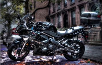 Картинка kawasaki+motorcycle мотоциклы kawasaki улица байк