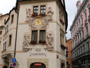 Картинка города прага+ Чехия отель