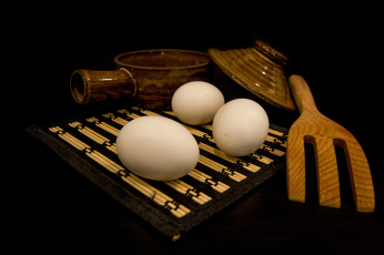 обоя еда, Яйца, яички