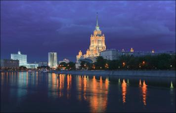 обоя города, москва , россия, гостиница, отель, рэдиссон, ройал, москва