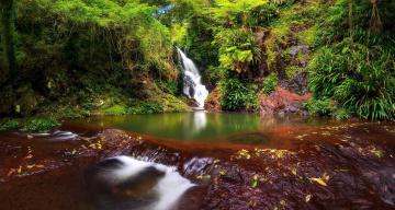 обоя природа, водопады, водопад