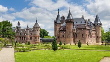 обоя de haar castle, города, замки нидерландов, замок