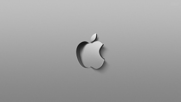Картинка компьютеры apple логотип фон