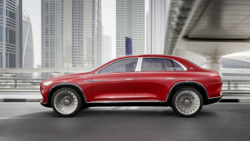 обоя mercedes-maybach vision ultimate luxury suv concept 2018, автомобили, 3д, luxury, ultimate, vision, mercedes-maybach, 2018, suv, concept