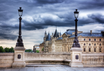 обоя conciergerie in paris, города, париж , франция, простор