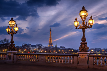 обоя alexandre iii bridge,  paris, города, париж , франция, простор