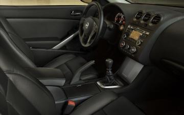 Картинка nissan altima couhe 2012 автомобили спидометры торпедо