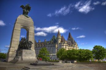 обоя города, оттава, канада, национальный, военный, мемориал, ottawa, canada