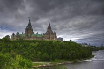 обоя города, оттава, канада, parliament, ottawa