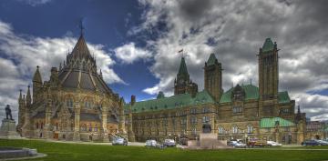 обоя города, оттава, канада, парламент