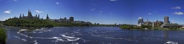 обоя города, оттава, канада, панорама, ottawa