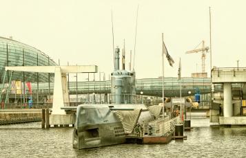 обоя корабли, моторные лодки, субмарина