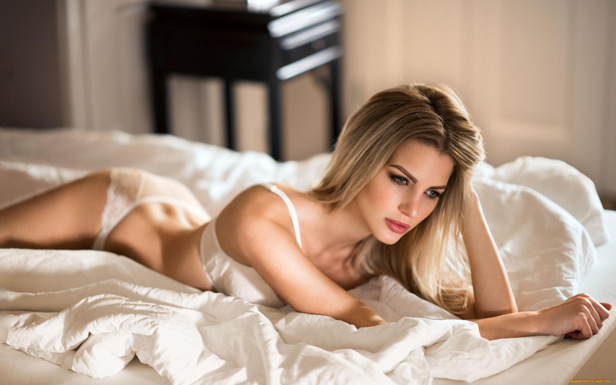 какие в постели блондинки отправляли вам