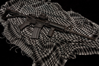 Картинка оружие автоматы ткань штурмовая винтовка ar-15
