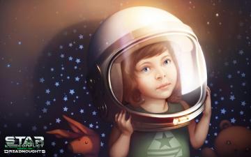 Картинка star+conflict +dreadnought видео+игры -+star+conflict +dreadnoughts девушка взгляд фон