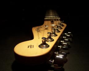 обоя музыка, -музыкальные инструменты, гитара, гриф, струны
