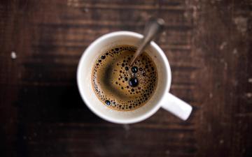 обоя еда, кофе,  кофейные зёрна, эспрессо