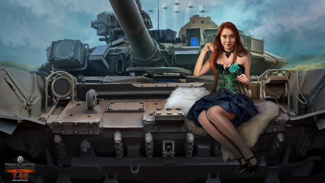 photo of girls танки № 31821