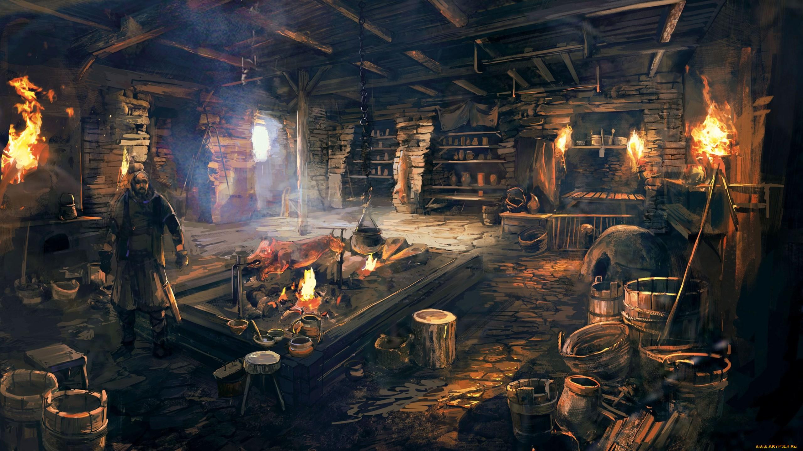 Fantasy Blacksmith Shop - #GolfClub