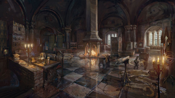 Картинка видео+игры the+witcher+3 +wild+hunt замок