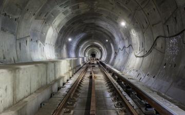 Картинка разное транспортные+средства+и+магистрали метро город рельсы