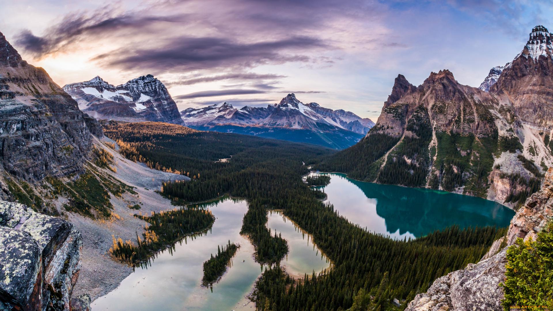 скалистые горы  № 1009978  скачать