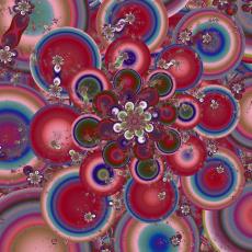 Картинка 3д+графика fractal+ фракталы узор цвета фон
