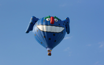 Картинка авиация воздушные+шары спорт небо шар