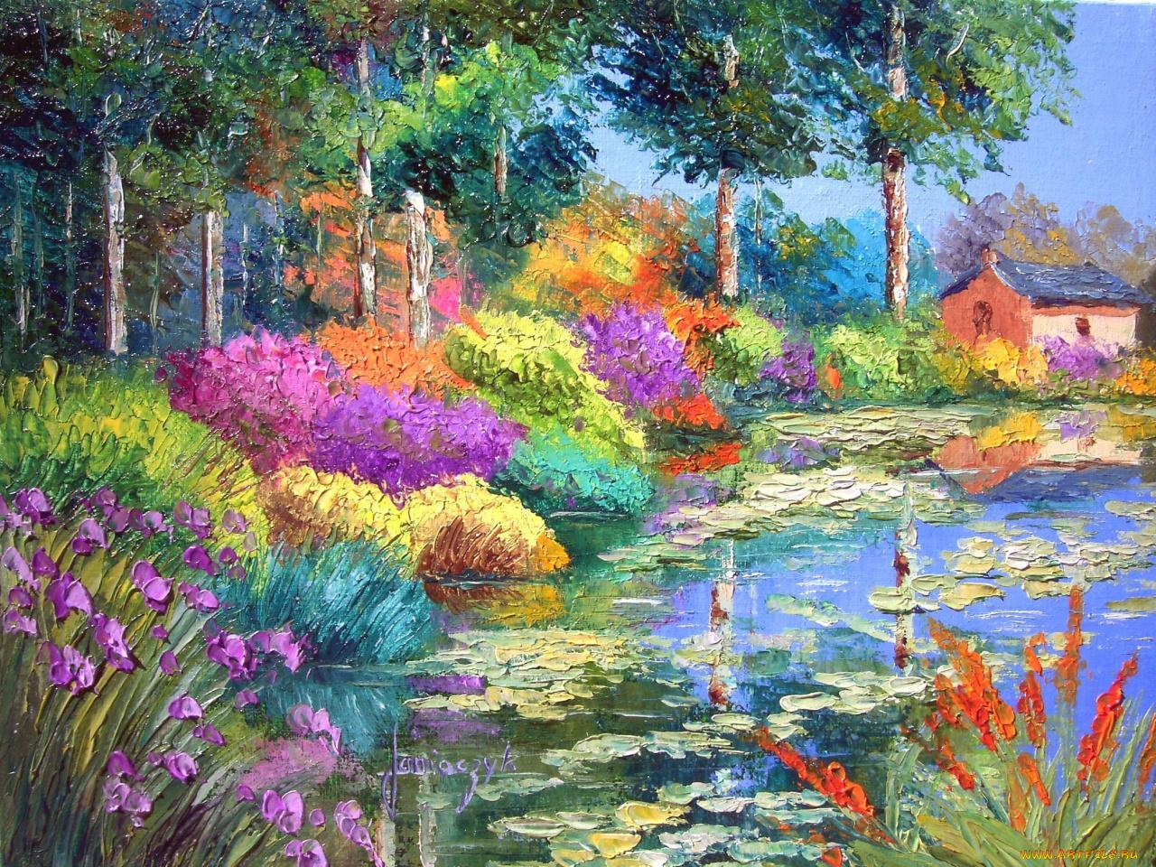 Картинки для живописи