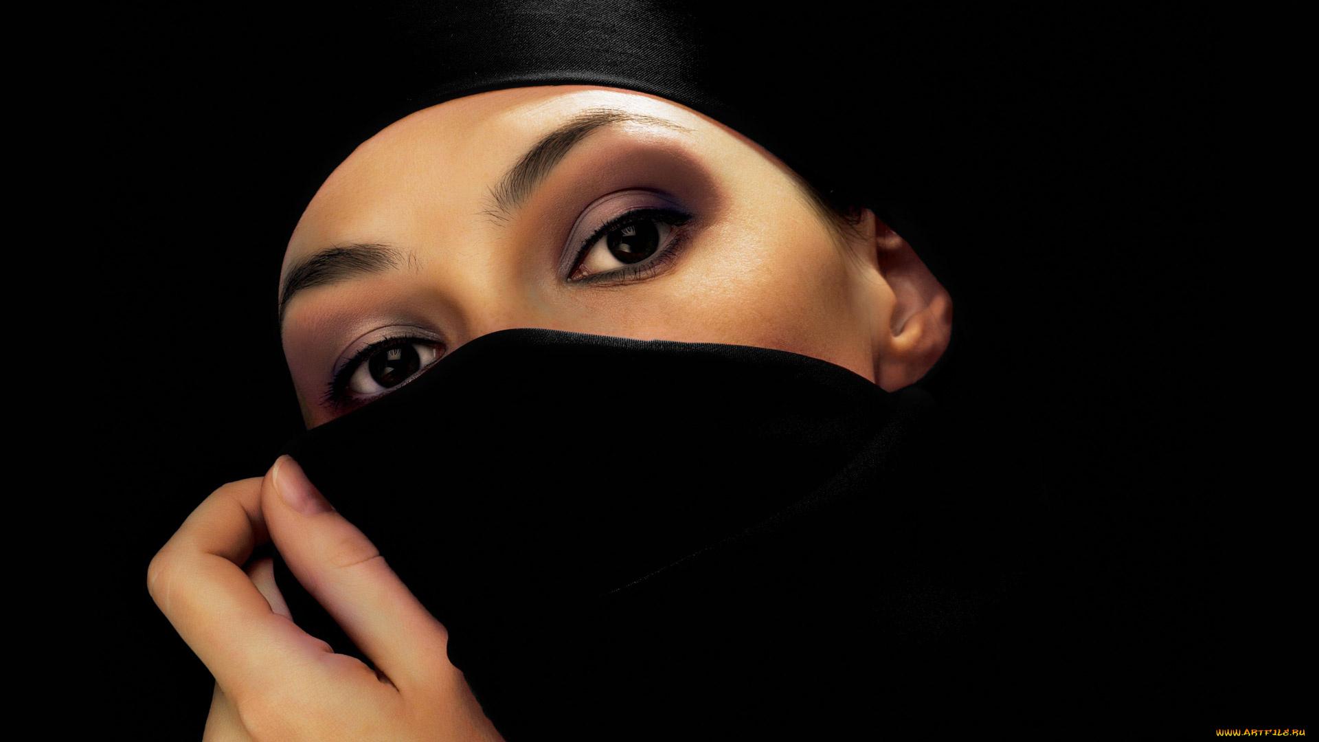 девушка платок бесплатно